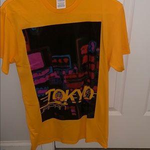 Yellow Tokyo graphic tee